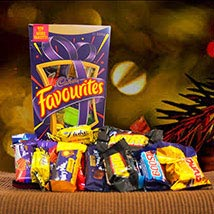 Cadbury Favourites Chocolates: Anniversary Gift Delivery in Australia