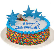 Colorful Rainbow Cake: Birthday Gifts to Australia
