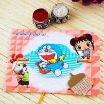 Doraemon kids Rakhi: Send Rakhi to Adelaide
