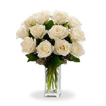 Dozen White Roses: Australia Wedding Gifts