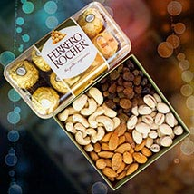 Ferrero Rocher With Mix Dry Fruits: Anniversary Gift Delivery in Australia
