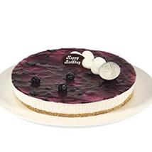 Fresh Blueberry Cheesecake: Send Cakes to Australia