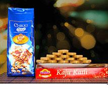 Kaju katli With Peanuts Chikki: Birthday Gifts to Australia