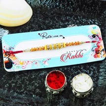 Lovely Bro Single Rakhi: Rakhi to Adelaide