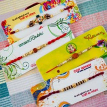 Parivar Rakhi Set: Rakhi to Adelaide