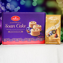Soan Cake With Lindt Chocolate: Birthday Gifts to Australia