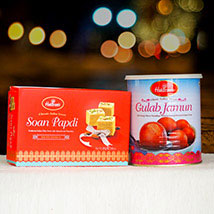 Soan Papdi and Gulabjamun Tin: Anniversary Gift Delivery in Australia
