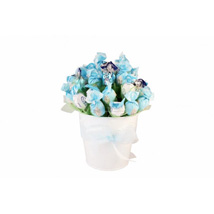 Blue sky sweet bouquet: Gifts to Belgium