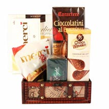Delightful Discovery Gift Basket: Gifts to Belgium