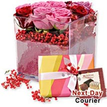 Romance And Chocolates BEL: Send Gifts to Belgium