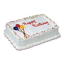 Birthday Special Vanilla Cake 1 Kg: Bhai Dooj Gift Delivery in Canada