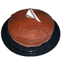 Choco Fudge Cake Half Kg: Cake Delivery in Canada
