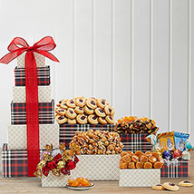 Chocolate and Sweets Tower: Christmas Gift Hampers to Canada