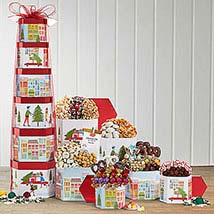 Chocolate Mountain and More: Christmas Gift Baskets to Canada