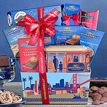 Ghirardelli Assortment: Christmas Gift Baskets to Canada