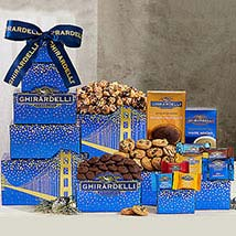 Ghirardelli Tower Hamper: Birthday Gifts to Canada