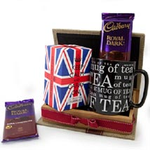 Keep Calm Tea Set: Canada Gifts for Girlfriend