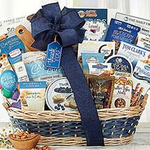 Many Thanks Basket: Fathers Day Gifts to Canada
