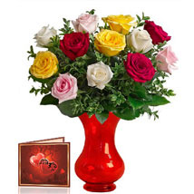 Mix Roses Bunch: