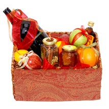 Mulled Wine Basket: Father's Day