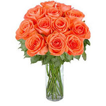 Orange Roses: Gifts to Canada for Husband