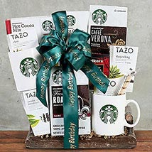 Starbucks Coffee Collection: Christmas Gift Baskets to Canada