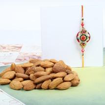 Traditional Rakhi With Almond: