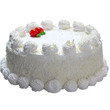 Vanilla Cake One And Half Kg: Send Cakes to Canada