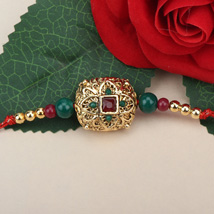 Traditional Antique Rakhi CHI: Send Rakhi to China