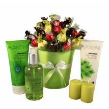 Green Melody: Send Gifts to France