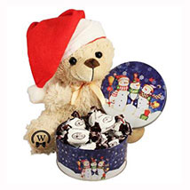 Christmas Treats with Teddy: Send Gift Baskets to Germany