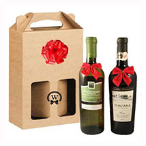 Classic Dual Italian Wines: Christmas Gift Delivery Germany