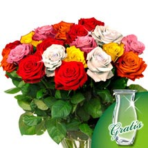 Colorful: Flower Bouquets to Germany