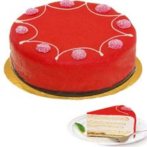 Dessert Raspberry Cake: Anniversary Gifts in Germany