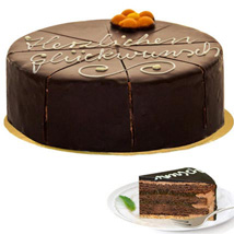 Dessert Sacher Cake: Anniversary Gifts to Germany