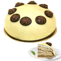Dessert Walnut Cream Cake: Gifts to Hamburg