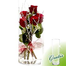 Flower Arrangement Rosenspiel: Valentines Day Gifts to Germany