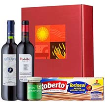 Gourmet Set Hot Flavour: Christmas Gift Hampers to Germany
