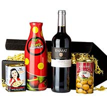 Gourmet Set Spanish Tradition: Anniversary Gifts in Germany