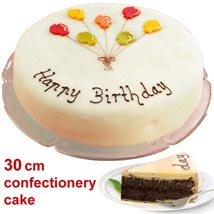 Large Poppy Seed Cake: Send Birthday Gifts to Stuttgart