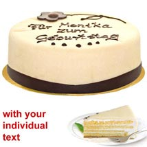 Marzipan Cake: Send Birthday Gifts to Stuttgart