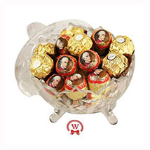 Mozart Rocher Royal: Christmas Gift Delivery Germany