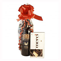Red Wine and Chocolate: Christmas Gifts to Germany