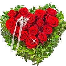 Rose Heart Ti Amo: Flower Bouquets to Germany
