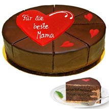 Sacher Cake: Valentines day