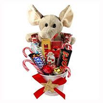 Sweet Elephant Christmas Bucket: Christmas Gift Delivery Germany