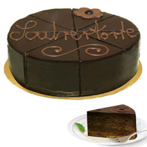Wonderful Dessert Sacher Cake: Send Birthday Cakes to Dusseldorf
