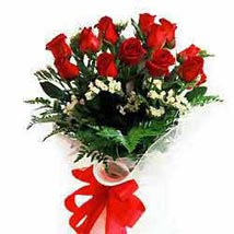12 rose bouquet JAP: Gifts to Japan