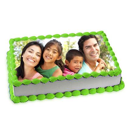 1kg Pineapple Photo Cake