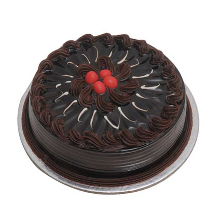 2 kg Chocolate Truffle Cake by FNP